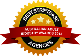 australian adult industry awards 2013 winner of best striptease agency
